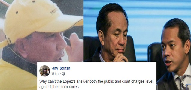 Gabby Lopez & kins withdrawal from public amid uncertainty of ABS-CBN network baffles retired broadcaster Jay Sonza, netizens offer varied explanation   PTN