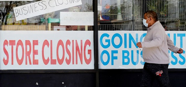US economy at risk of 'double-dip' recession without additional coronavirus relief