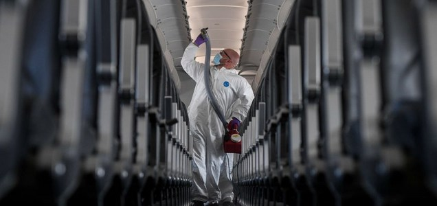 You Might Not Catch Coronavirus On an Airplane. But Air Travel Is Still Probably Spreading COVID-19