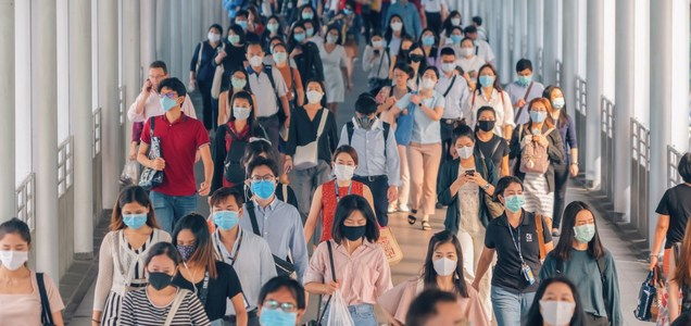 How face masks might save your life even if you get infected while wearing one