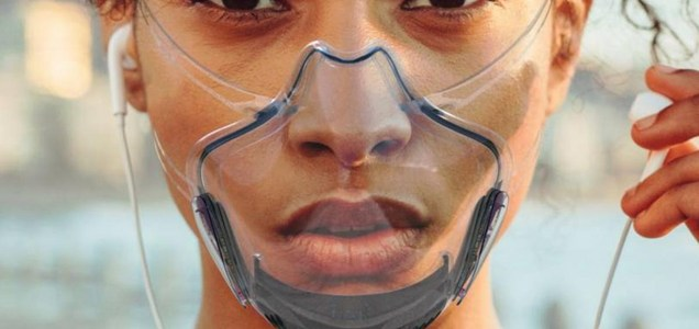 Transparentes, capaces de autodesinfectarse o conectadas a tu móvil: así serán las mascarillas que llevarás en el futuro