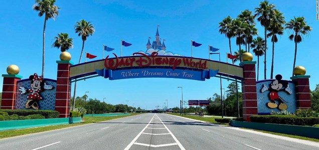 'It's the heart of the brand': Disney World reopens as coronavirus cases spike in Florida