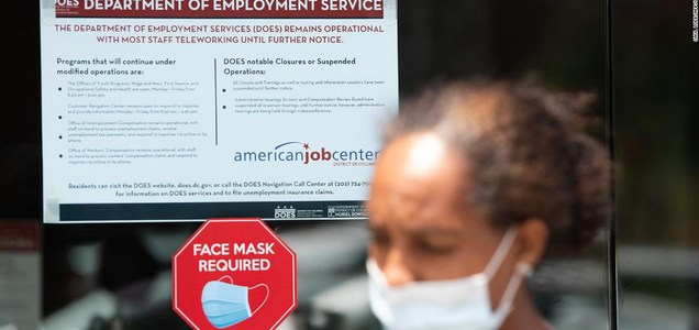 American unemployment claims are on the rise again for the first time in 4 months