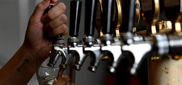 Beer unsold during lockdown has been turned into renewable energy