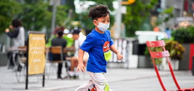 World Health Organization advises kids 12 and older should wear masks to prevent coronavirus spread