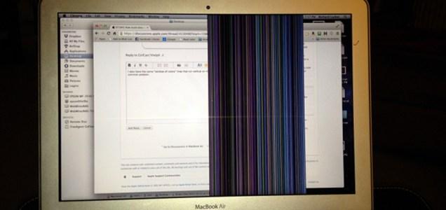Macbook Air Cracked screen - Hong Kong Forums - GeoExpat Com