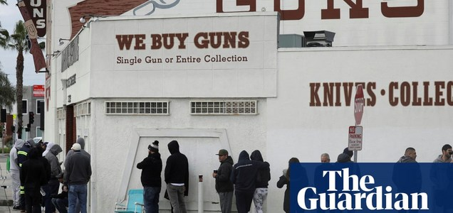 More than 100,000 Californians have bought a gun in response to Covid-19 crisis, report finds