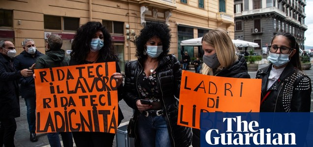 Frustrations and infections rise in Naples as second Covid lockdown looms