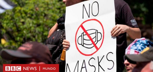 Por qué hace 100 años muchos se negaron a usar mascarillas contra la gripe española en EE.UU. (y qué similitud hay con la covid-19)
