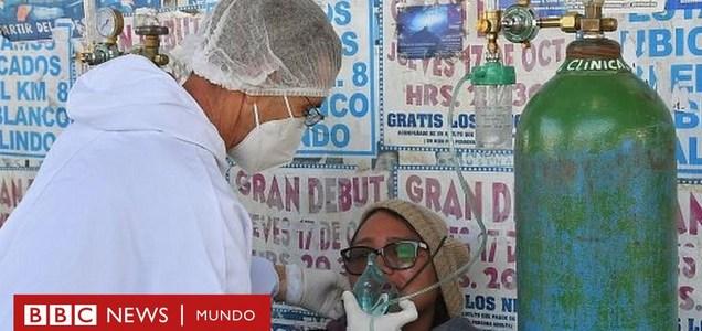 """""""En 20 minutos los bebés pueden fallecer"""": la dramática crisis de oxígeno que azota a Bolivia en medio del coronavirus"""