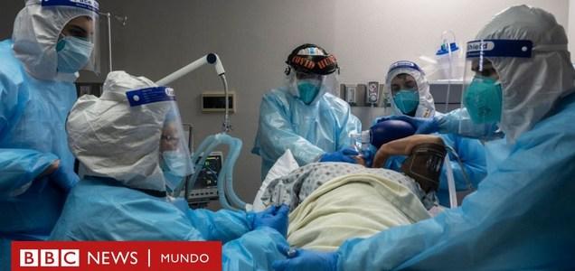 """Un """"desastre humanitario"""": 5 cifras que muestran el descontrol de la pandemia de coronavirus en EE.UU."""