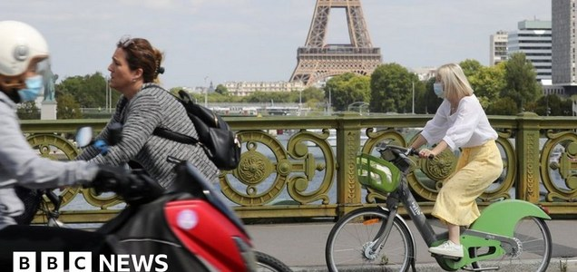 Coronavirus: How pandemic sparked European cycling revolution