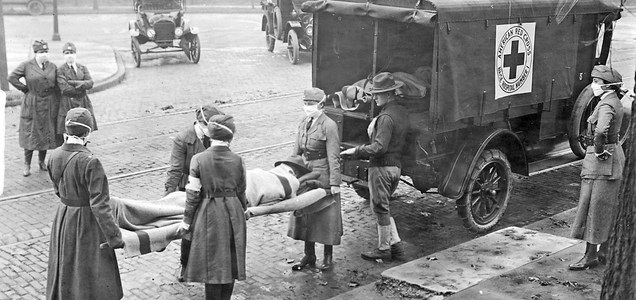 Medical historian compares the coronavirus to the 1918 flu pandemic: Both were highly political