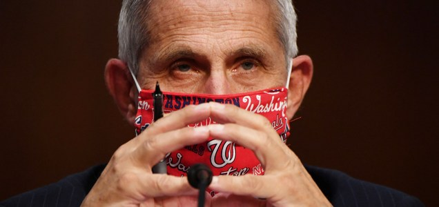 Dr. Anthony Fauci warns the coronavirus won't ever be totally eradicated