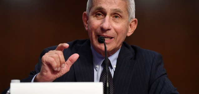 Dr. Anthony Fauci says the average age of U.S. coronavirus patients has dropped by 15 years as Sun Belt states gets hit