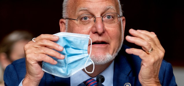 CDC director says face masks may provide more protection than coronavirus vaccine