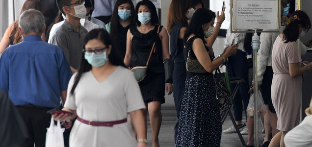 The coronavirus pandemic will intensify competition for white-collar jobs, says Singapore minister