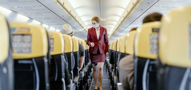 How likely are you to be infected by the coronavirus on a flight?