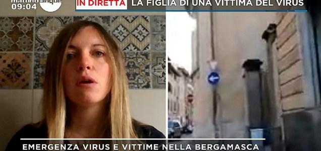 Cristina Longhini: ho esitato a riconoscere mio padre morto, era in condizioni terribili, lacrimava sangue