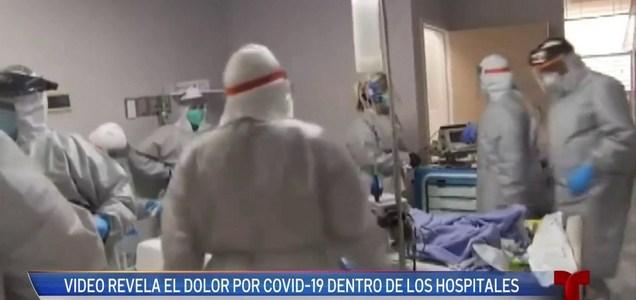 Houston: Video muestra la tragedia del COVID-19 en los hospitales