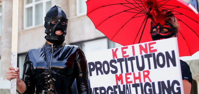 German prostitutes furious over sex work bans amid COVID-19