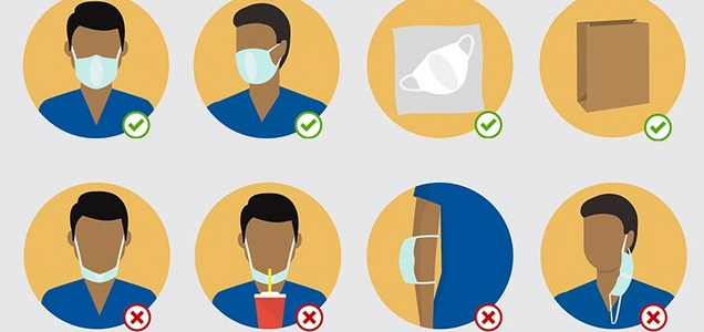 Simple COVID-19 Tips for Wearing a Face Mask: It's Not Enough to Wear a Mask, You Have to Wear It Right