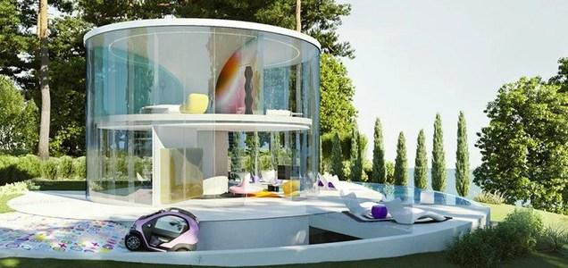 La casa ideale per il post covid ideata dal designer Karim Rashid