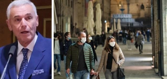 """Palù: """"Picco tra gennaio e febbraio, ma nessuna pandemia dura più di 2 anni"""""""