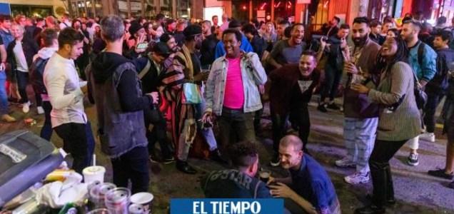 Ingleses hacen 'covid-fiestas' masivas antes de cierre por rebrote