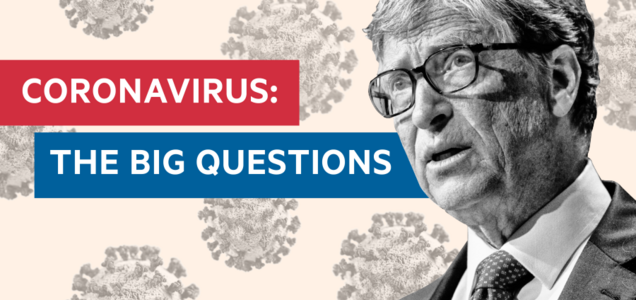 Bill Gates's interview on Coronavirus