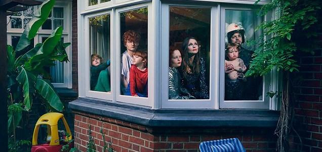 """Cuando el mundo quedó """"en pausa"""": una emotiva muestra fotográfica sobre la pandemia"""