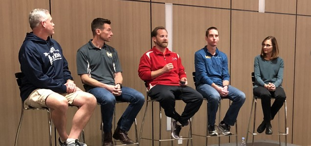 I attended a clinic with the top high school cross coaches