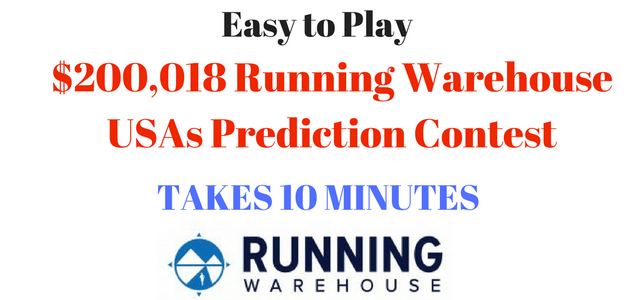 $200,018 Running Warehouse Prediction Contest is Here - Get Picks in