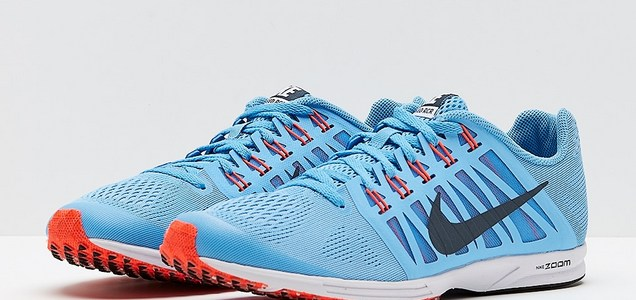 2a6d0ee11ddbf Nike Unisex Air Zoom Speed Racer 6 - Football Blue Blue Fox Bright Crimson  - Mens Shoes - 749360-446
