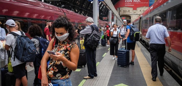 Coronavirus infections are rising in Europe and vacationers may be partly to blame