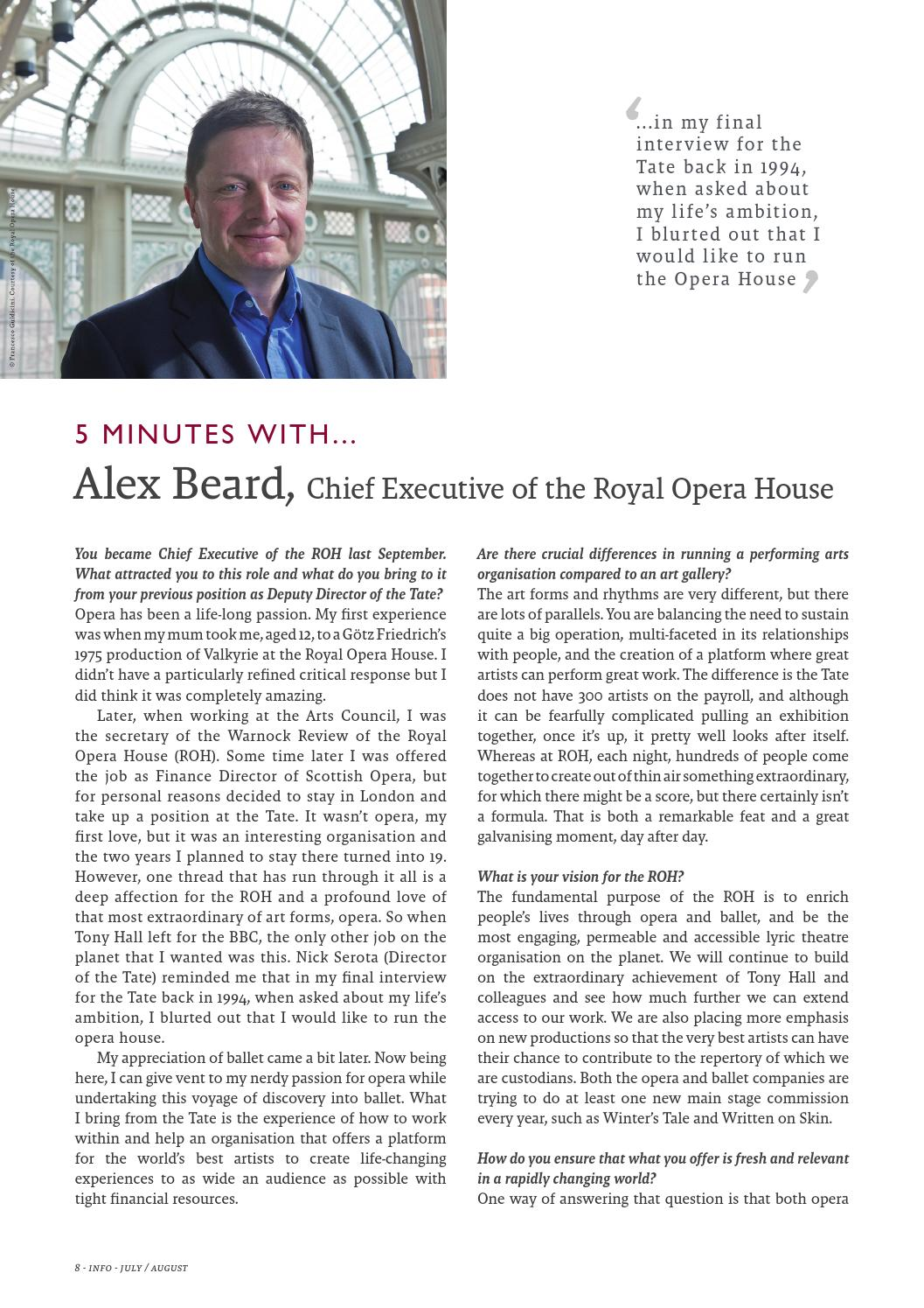 0295bff45 5 Minutes with... Alex Beard