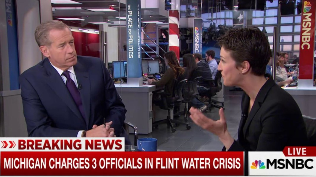 rachel maddow wins emmy for flint water crisis coverage