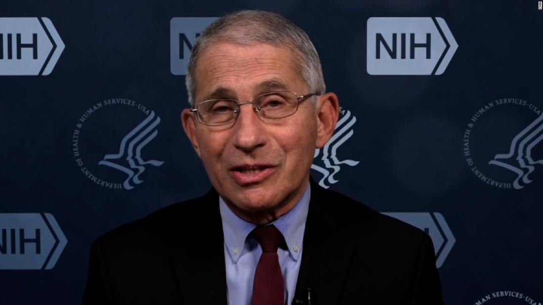 'Out of control': Dr. Fauci on Covid-19 surge