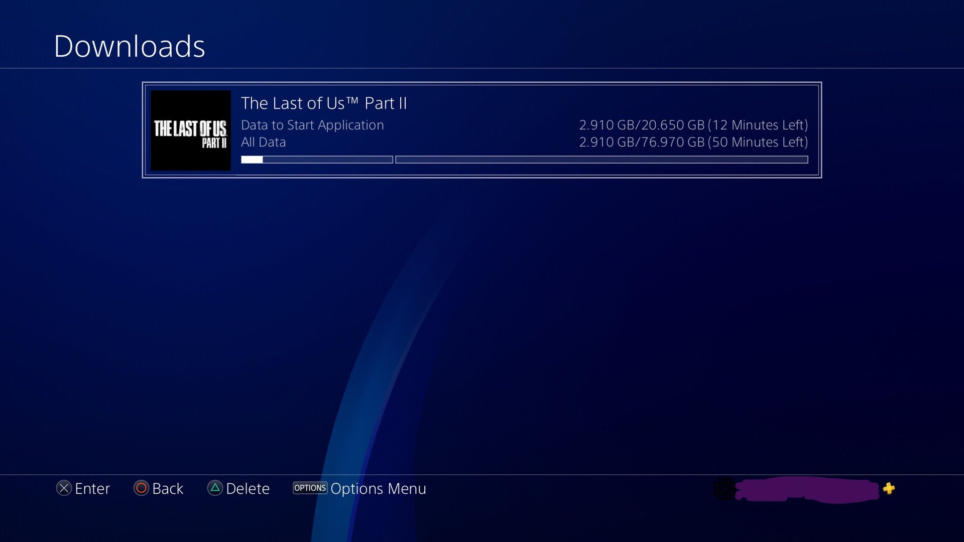 the last of us 2 pre-load