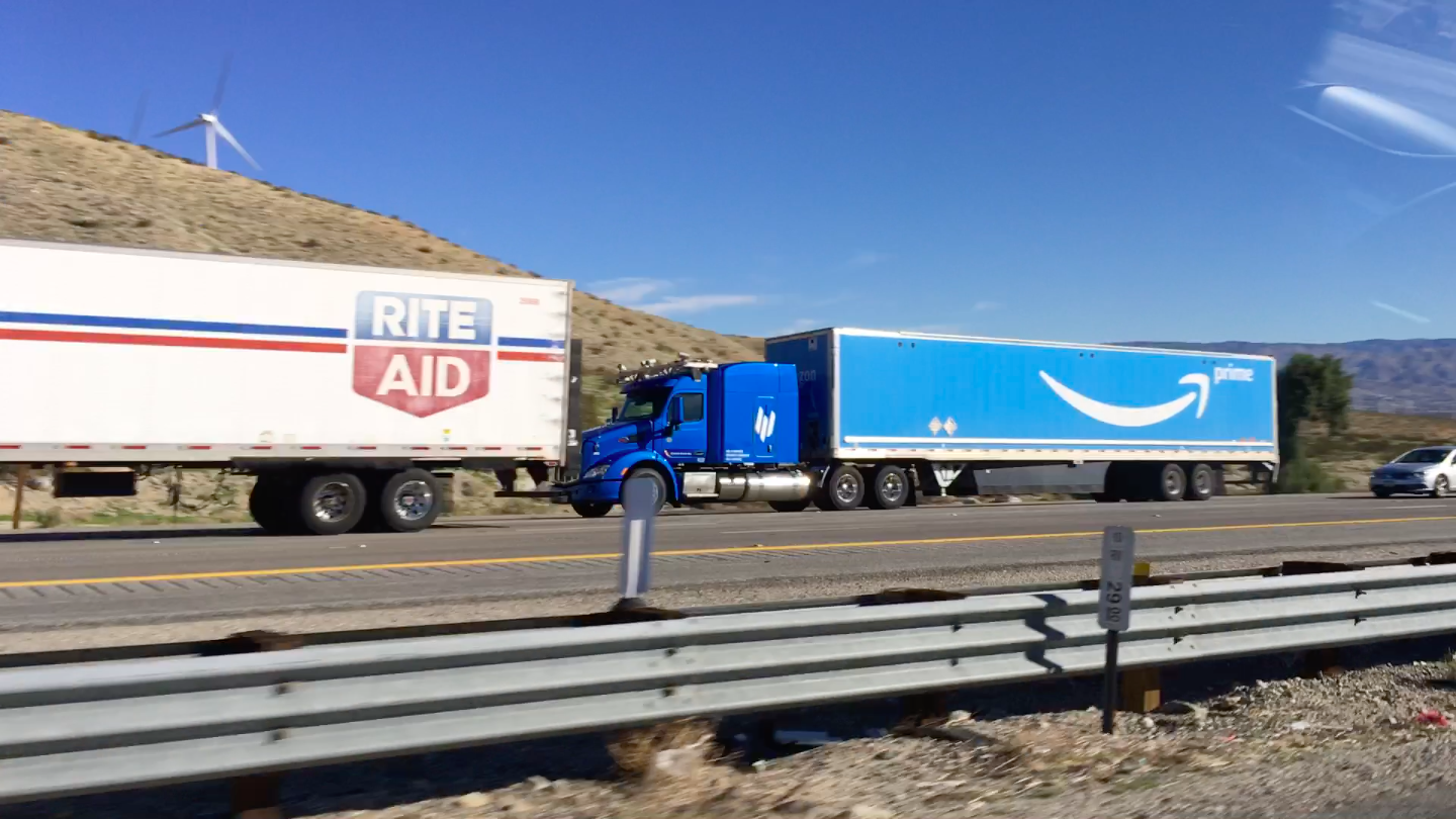 A self-driving Amazon rig