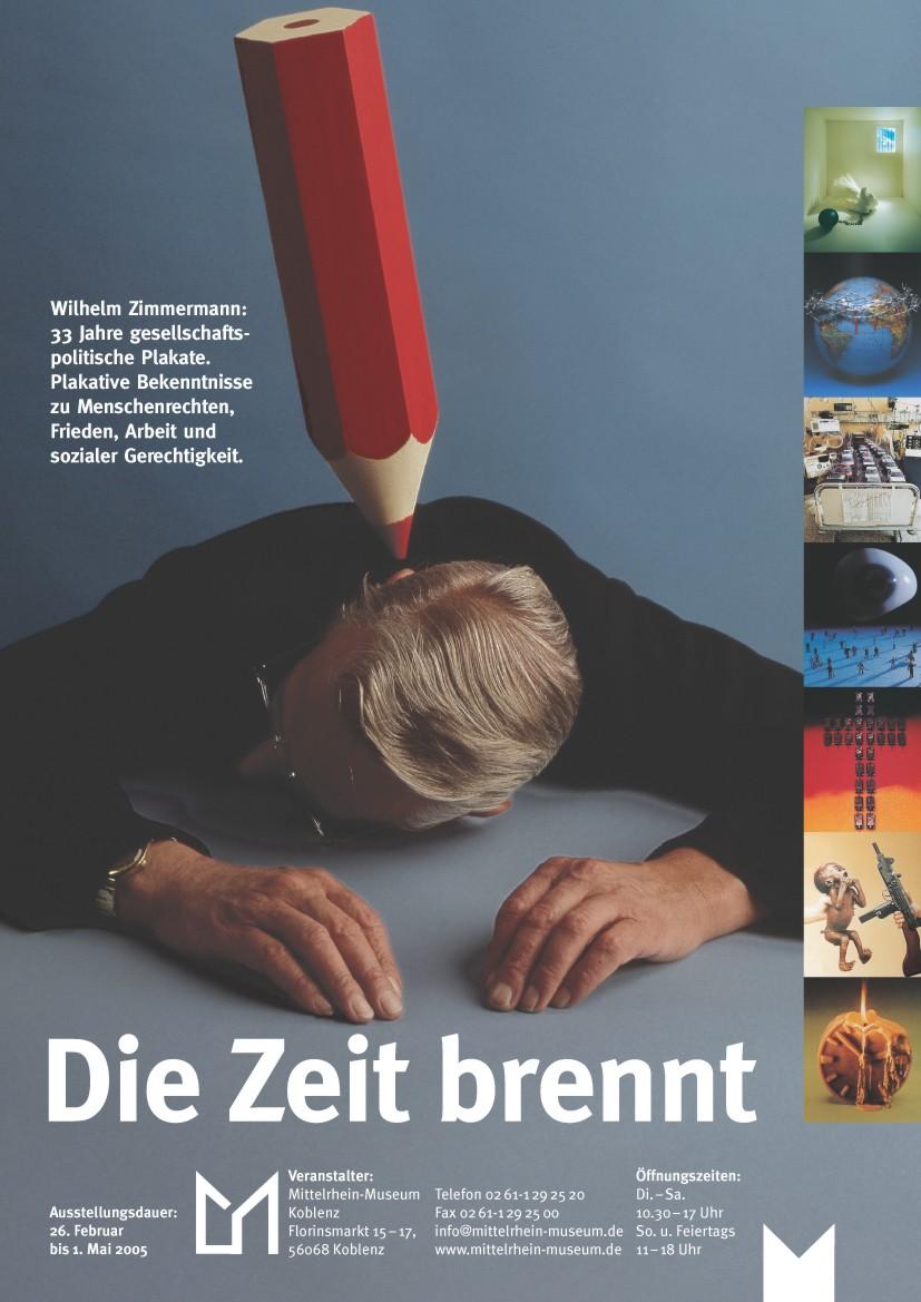 Wilhelm Zimmermann – Politische Plakate