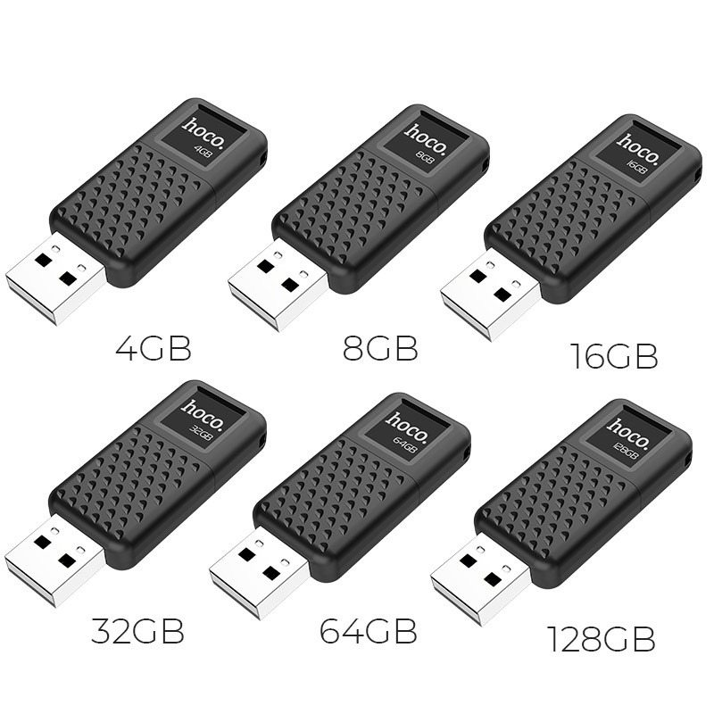 USB HOCO UD6 - 32GB ĐỦ DUNG LƯỢNG - CHÍNH HÃNG