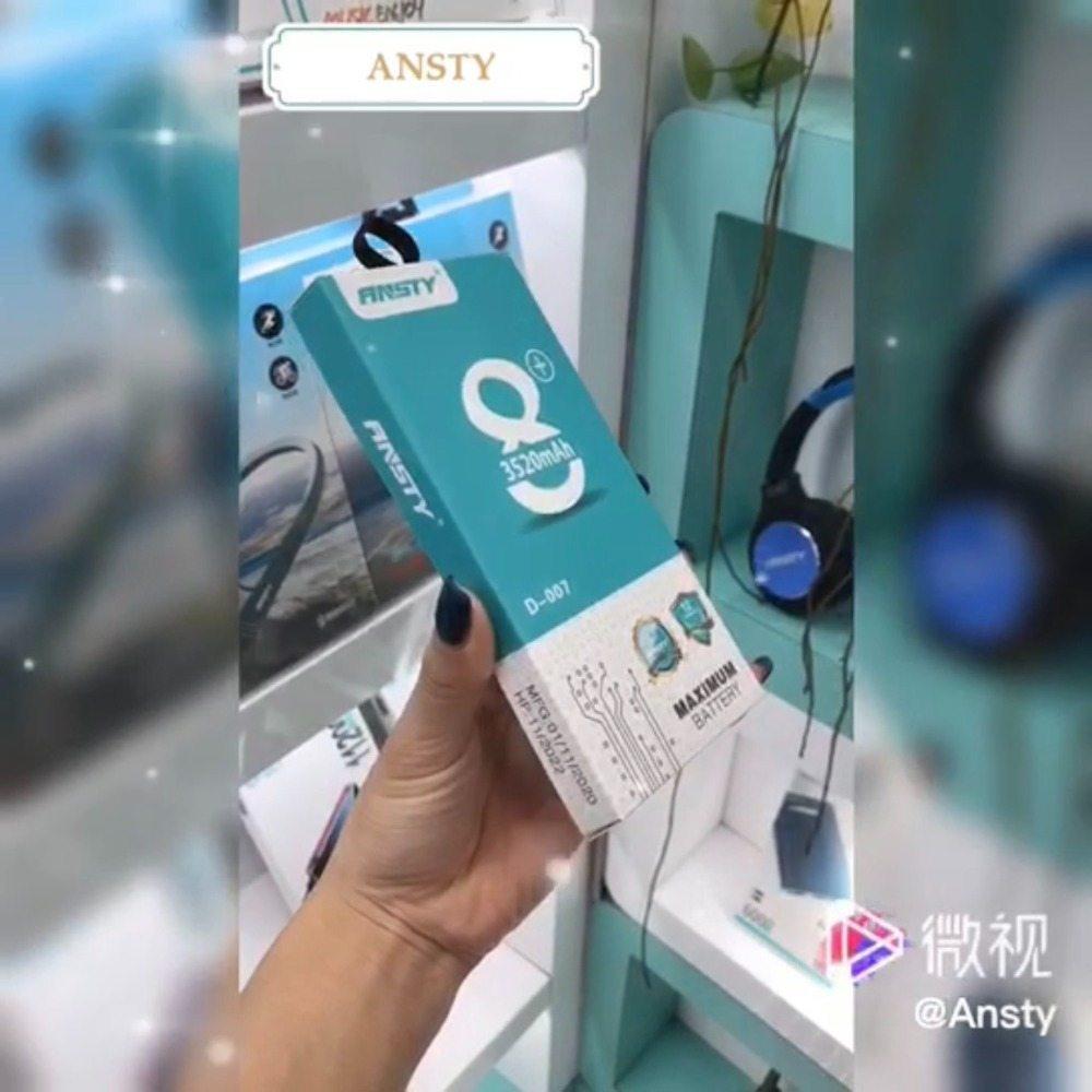 PIN IPHONE XR - ANSTY CHÍNH HÃNG